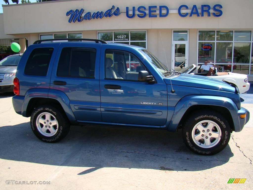 Superior Atlantic Blue Pearl Jeep Liberty. Jeep Liberty Limited