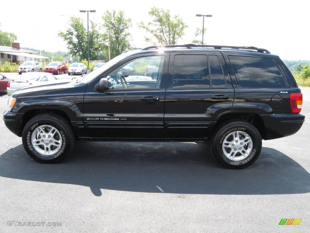 Black 2000 Jeep Grand Cherokee Laredo