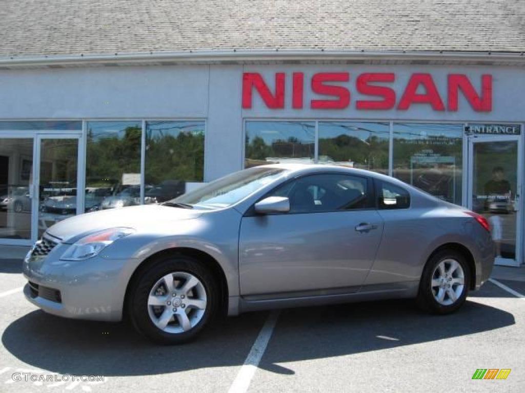 Precision Gray Metallic Nissan Altima. Nissan Altima 2.5 S Coupe