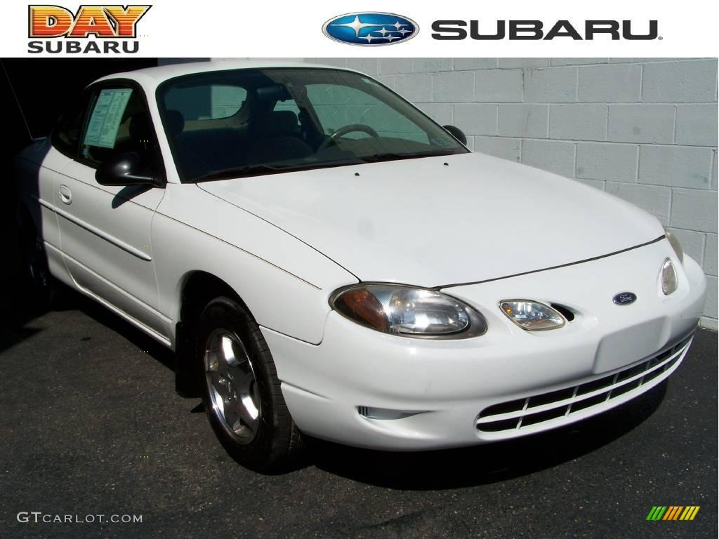 2000 oxford white ford escort zx2 coupe 17497250. Black Bedroom Furniture Sets. Home Design Ideas