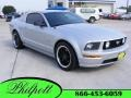 2007 Satin Silver Metallic Ford Mustang GT Premium Coupe  photo #1