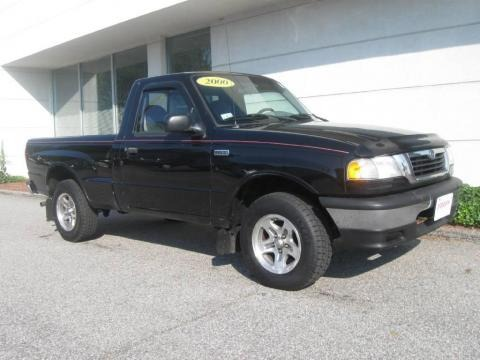 2000 mazda b series truck b2500 se regular cab data info. Black Bedroom Furniture Sets. Home Design Ideas