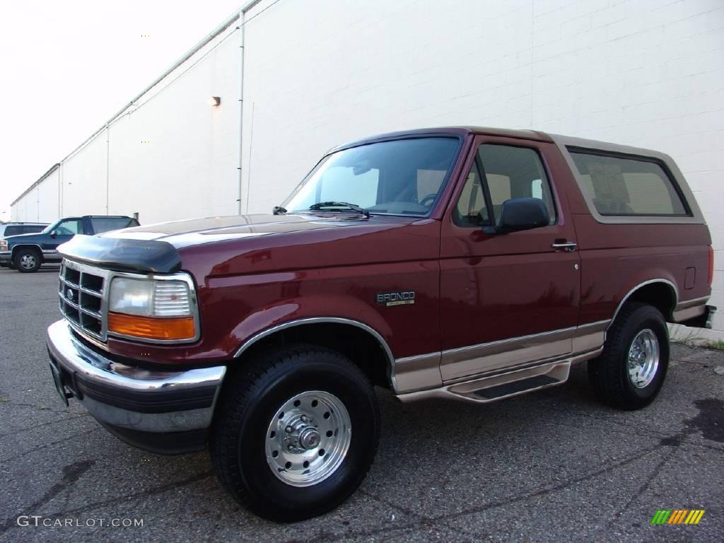 Ford Bronco Eddie Bauer Pictures