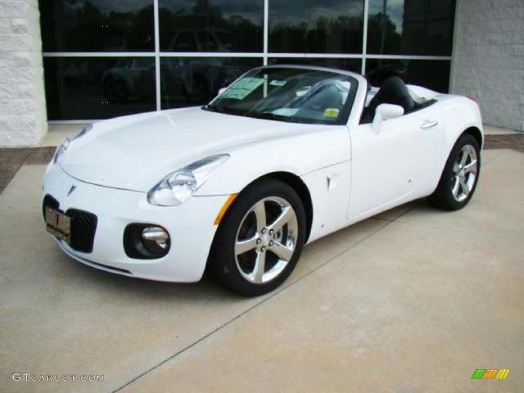 2008 Pure White Pontiac Solstice Gxp Roadster 17548154 Gtcarlot Com Car Color Galleries