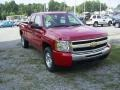 2009 Victory Red Chevrolet Silverado 1500 LT Extended Cab 4x4  photo #5