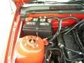 2007 Torch Red Ford Mustang V6 Deluxe Coupe  photo #15