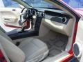 2007 Torch Red Ford Mustang V6 Deluxe Coupe  photo #24