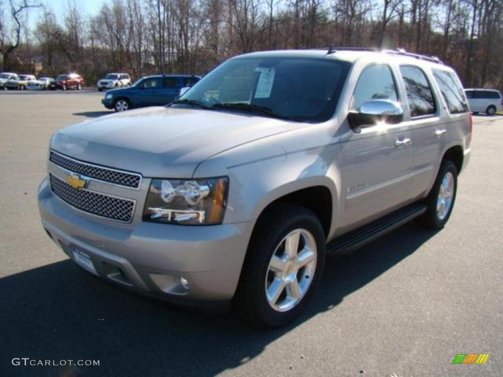 2009 silver birch metallic chevrolet tahoe ltz 17548210 car color galleries. Black Bedroom Furniture Sets. Home Design Ideas