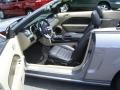 2007 Tungsten Grey Metallic Ford Mustang GT Premium Convertible  photo #31