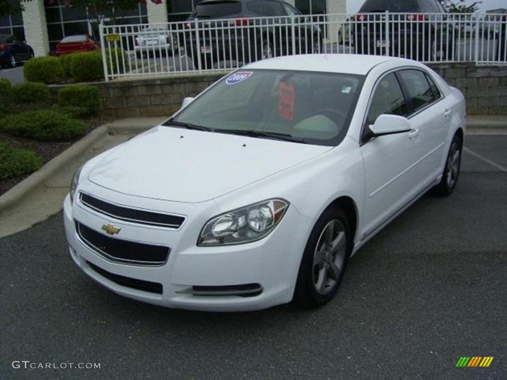 2009 Summit White Chevrolet Malibu LT Sedan #17548319 | GTCarLot.com ...