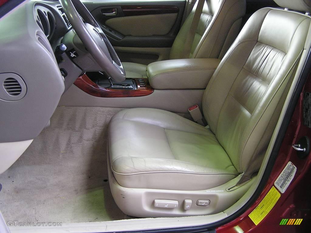 1998 Cinnabar Red Pearl Lexus Gs 400 17583220 Photo 6