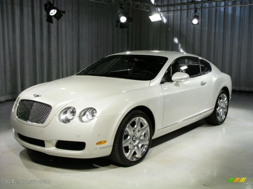 Pearlescent Car Paint >> 2006 Ghost White Pearlescent Bentley Continental GT Mulliner #17638574 Photo #5 | GTCarLot.com ...