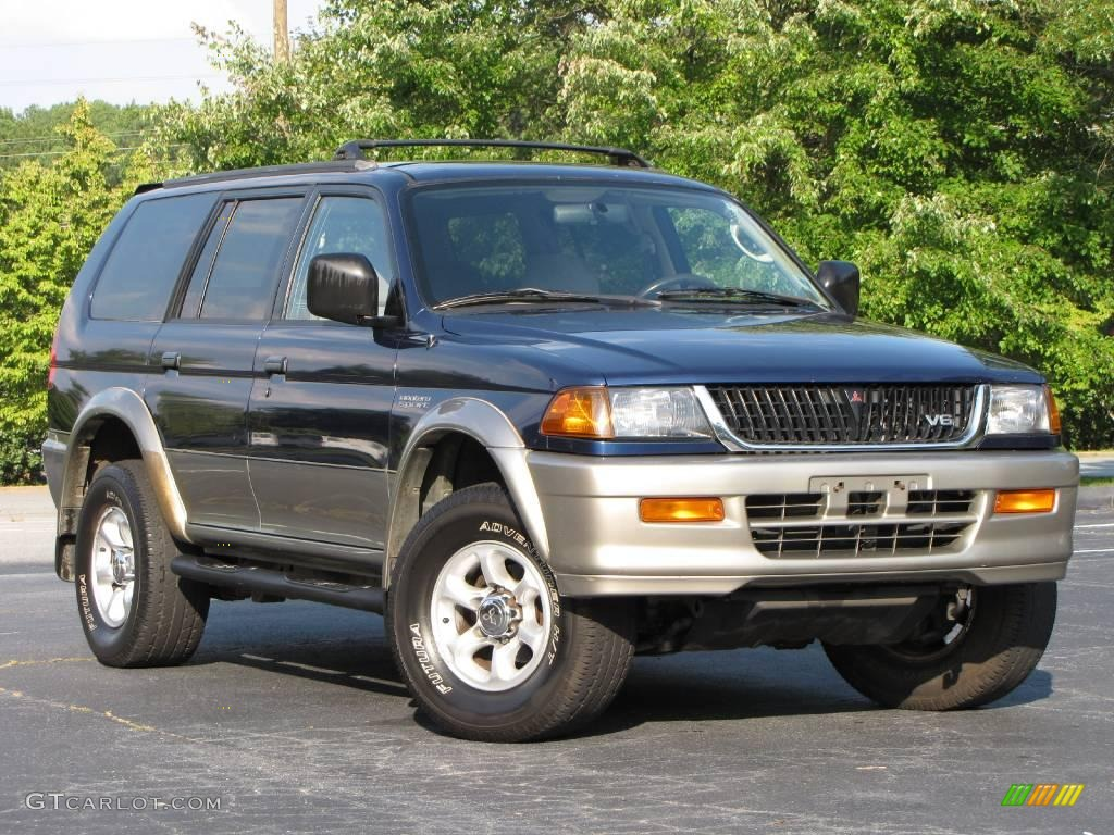 1999 Mitsubishi Montero Sport Xls 4x4 Pictures to pin on Pinterest