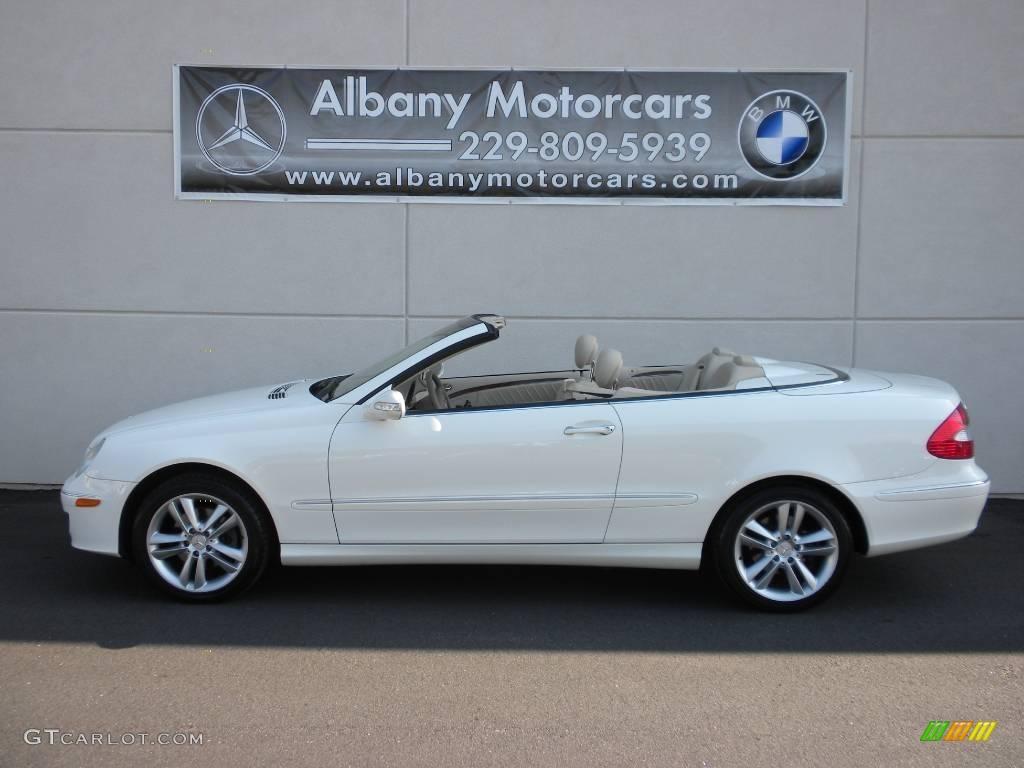 2006 alabaster white mercedes benz clk 350 cabriolet for Mercedes benz clk 2006
