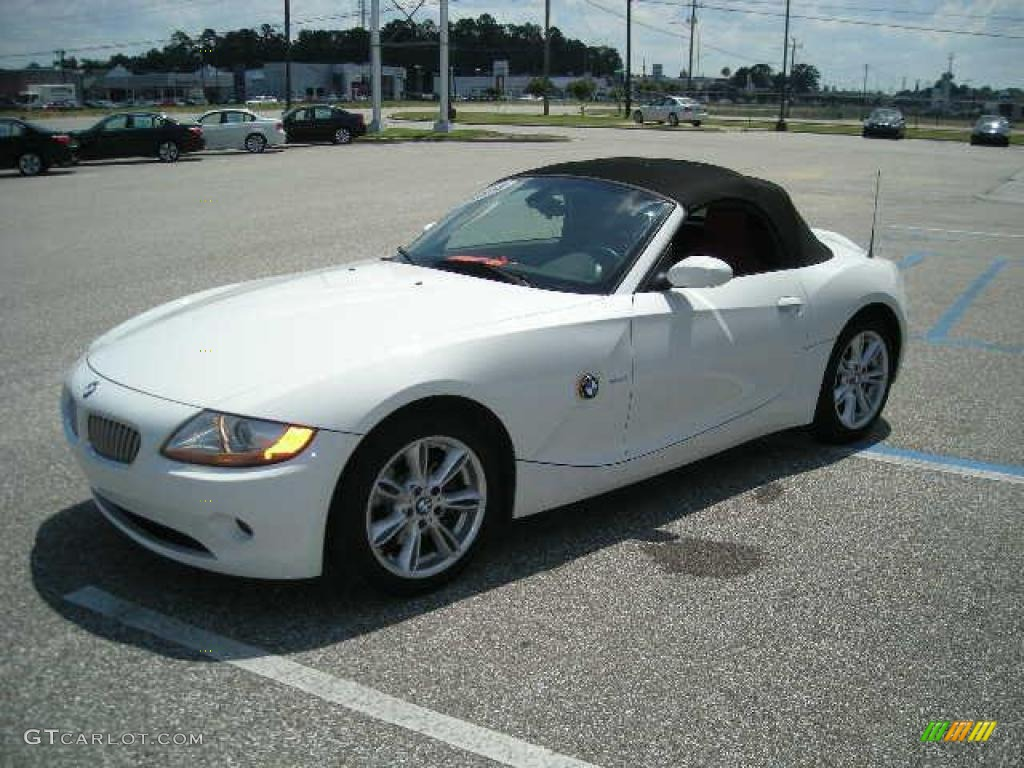 2004 Alpine White Bmw Z4 3 0i Roadster 17698110 Photo 4