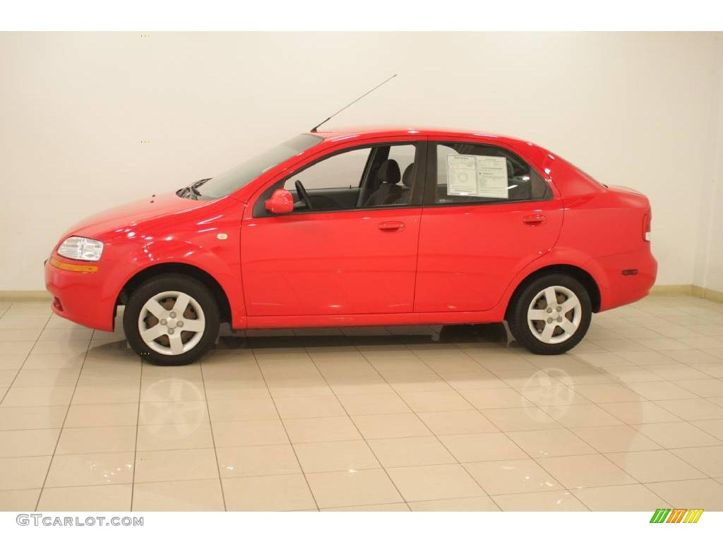 Chevy Vin Decoder >> 2005 Victory Red Chevrolet Aveo Special Value Sedan #17704525 Photo #4 | GTCarLot.com - Car ...