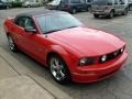 2007 Torch Red Ford Mustang GT Premium Convertible  photo #6