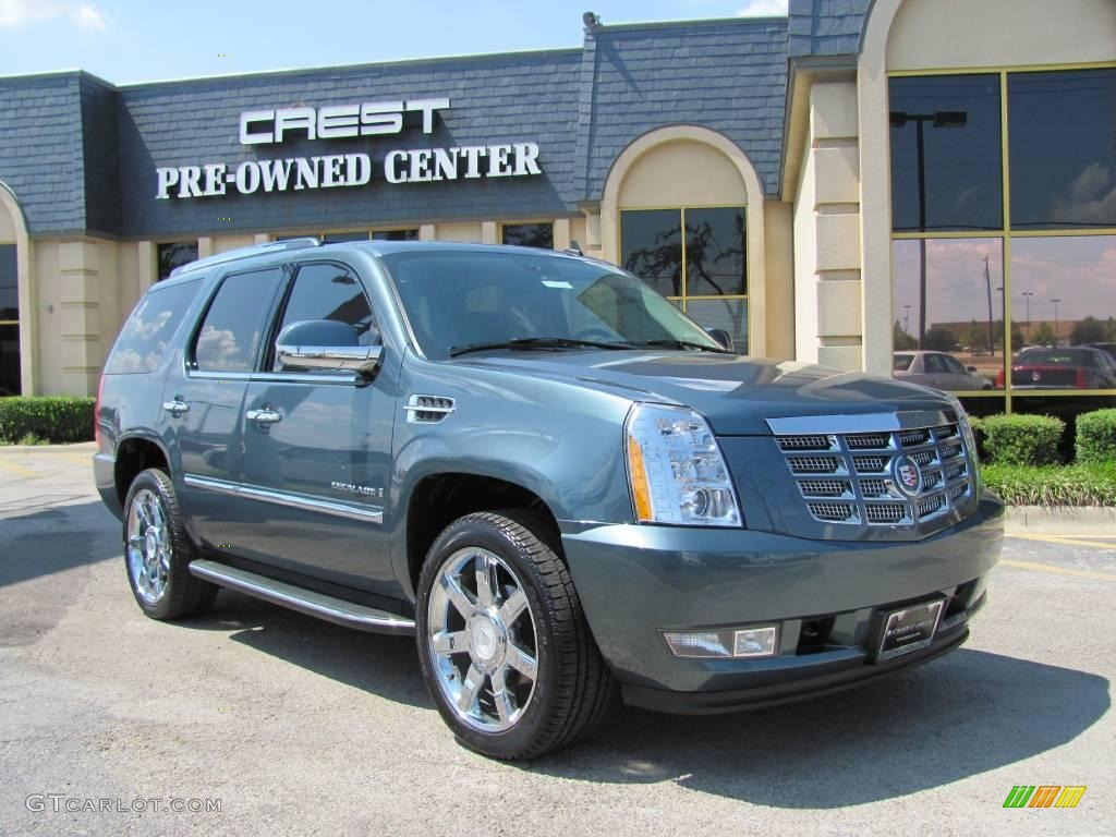 2008 stealth gray cadillac escalade 17745280 gtcarlot. Black Bedroom Furniture Sets. Home Design Ideas