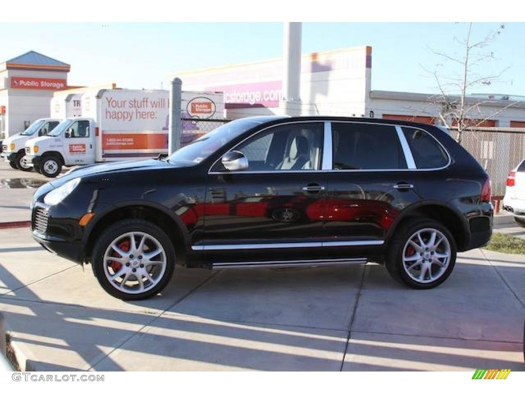 2005 black porsche cayenne turbo 1771521 car color galleries. Black Bedroom Furniture Sets. Home Design Ideas