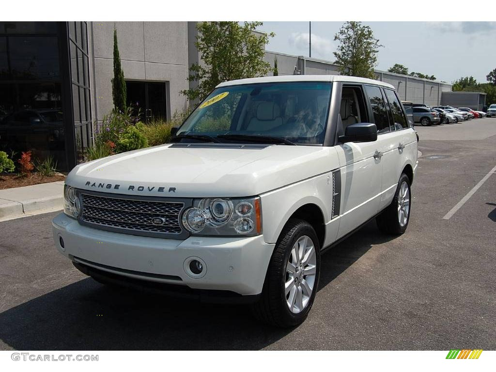 2007 chawton white land rover range rover supercharged. Black Bedroom Furniture Sets. Home Design Ideas