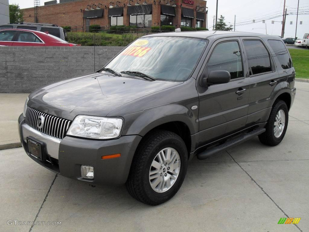 2005 dark shadow grey metallic mercury mariner v6 premier. Black Bedroom Furniture Sets. Home Design Ideas