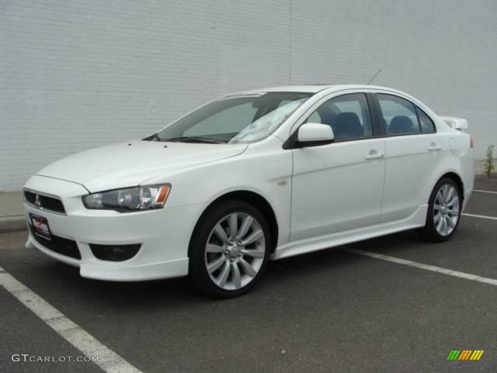 2008 wicked white mitsubishi lancer gts 17698558. Black Bedroom Furniture Sets. Home Design Ideas
