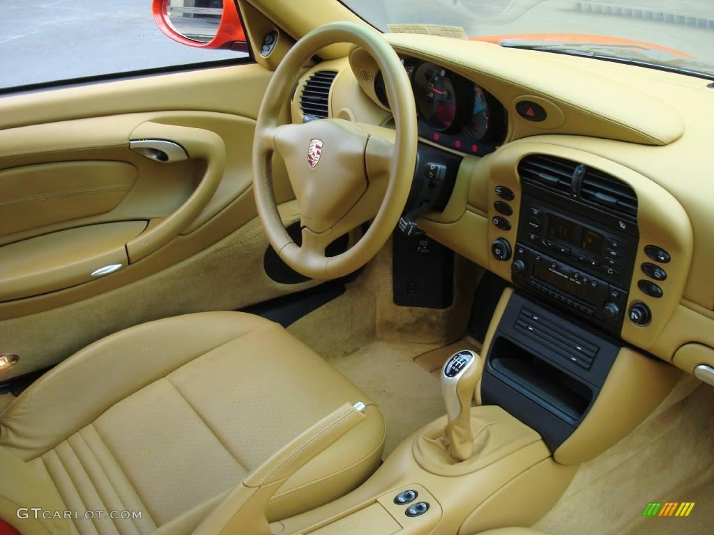 savanna beige interior 2002 porsche 911 carrera 4s coupe photo 17778640. Black Bedroom Furniture Sets. Home Design Ideas