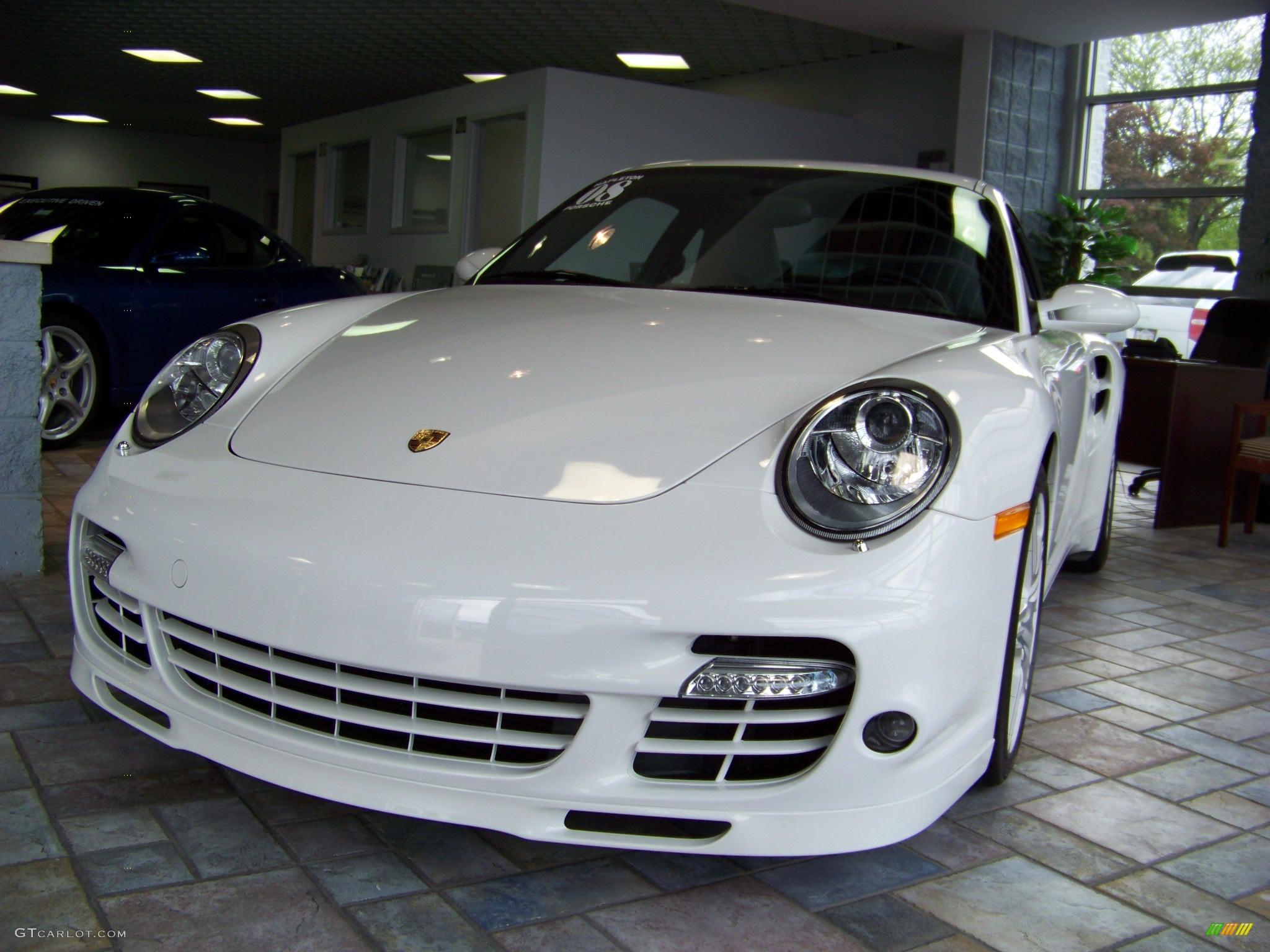 2008 Carrara White Porsche 911 Turbo Coupe 175724
