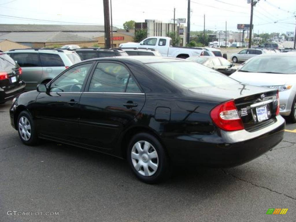 Toyota Camry 2002 Black 2002 Toyota Camry le Black