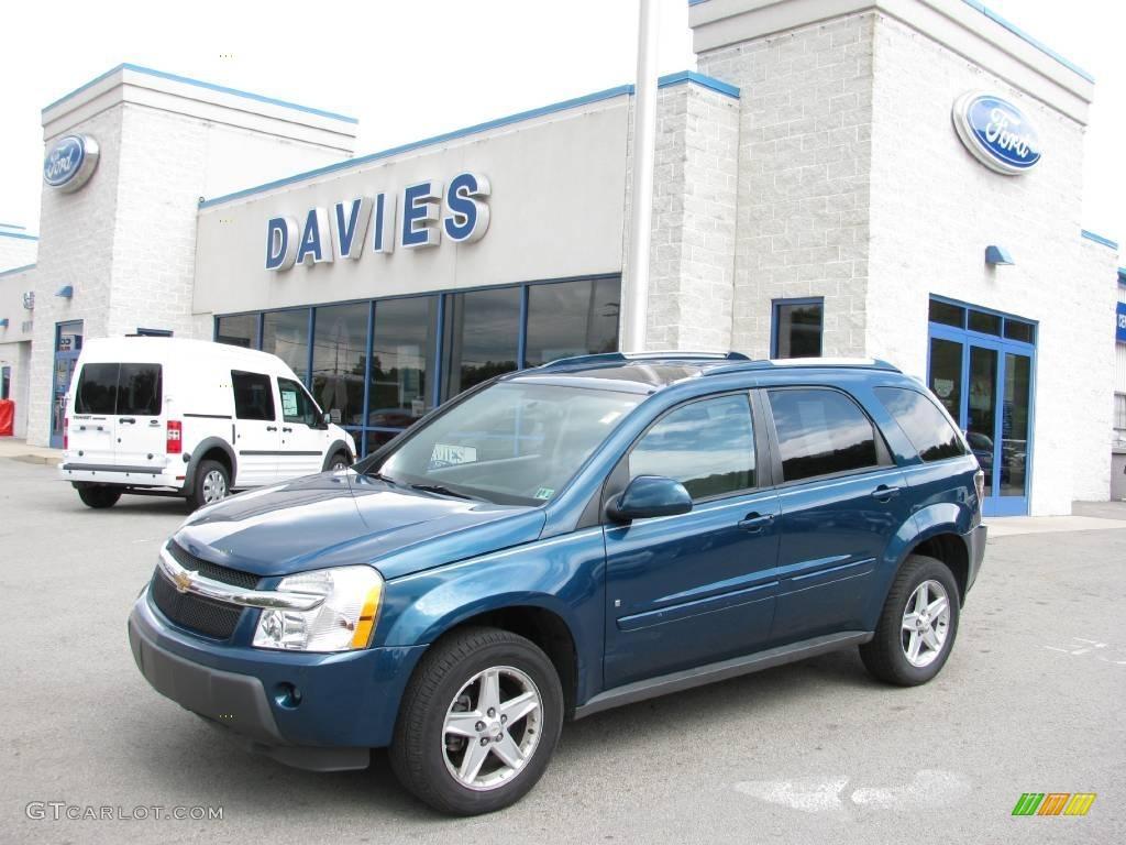 2006 Laser Blue Metallic Chevrolet Equinox LT #16332540 | GTCarLot ...