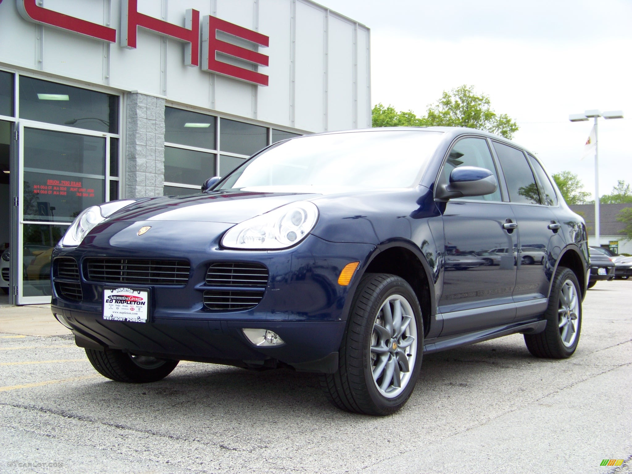 2006 marine blue metallic porsche cayenne s titanium 176826 car color galleries. Black Bedroom Furniture Sets. Home Design Ideas