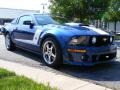 2007 Vista Blue Metallic Ford Mustang ROUSH 427R Supercharged Coupe  photo #7