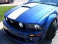 2007 Vista Blue Metallic Ford Mustang ROUSH 427R Supercharged Coupe  photo #36