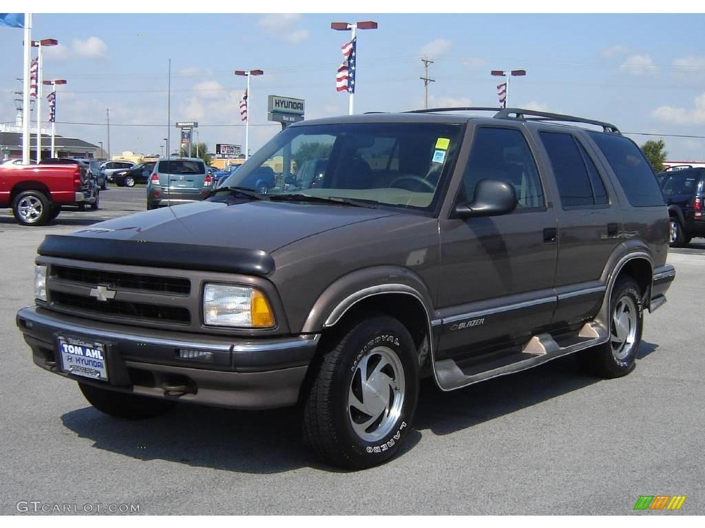 1997 smokey caramel metallic chevrolet blazer lt 4x4 17831987 rh gtcarlot com 1997 chevy blazer manual 1997 chevy blazer repair manual