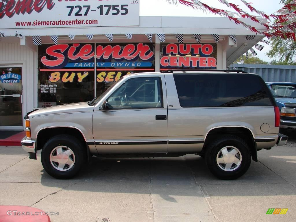 1999 Light Pewter Metallic Chevrolet Tahoe Lt 4x4 17836612