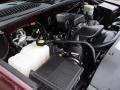 2000 Dark Carmine Red Metallic Chevrolet Silverado 1500 LS Extended Cab 4x4  photo #24
