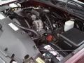2000 Dark Carmine Red Metallic Chevrolet Silverado 1500 LS Extended Cab 4x4  photo #26
