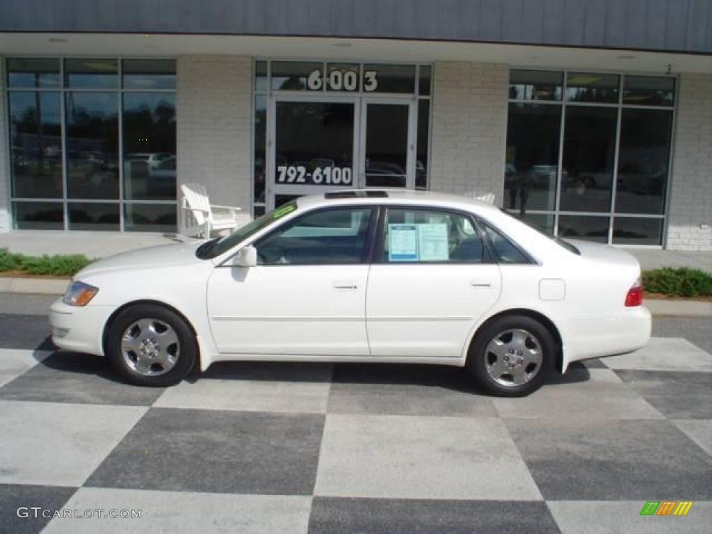 2003 Diamond White Pearl Toyota Avalon Xls 17838284
