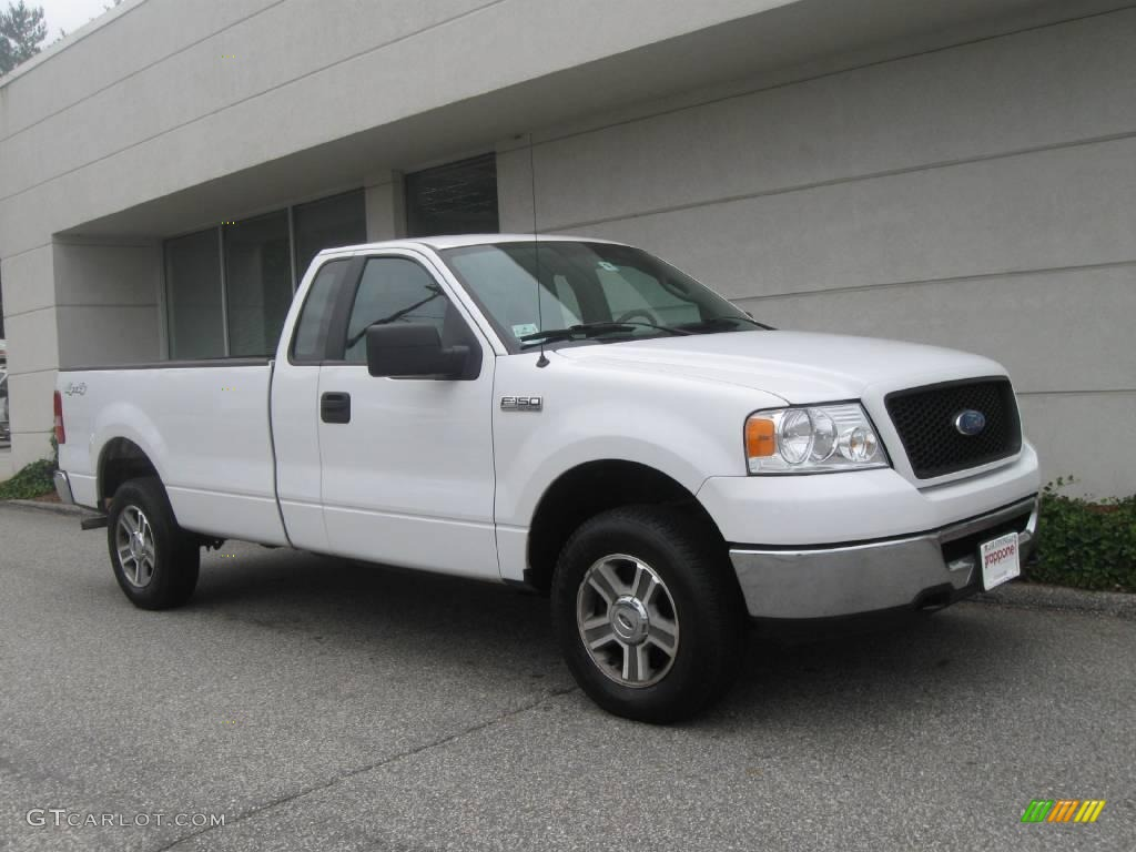 2006 oxford white ford f150 xlt regular cab 4x4 17837494 car color galleries. Black Bedroom Furniture Sets. Home Design Ideas
