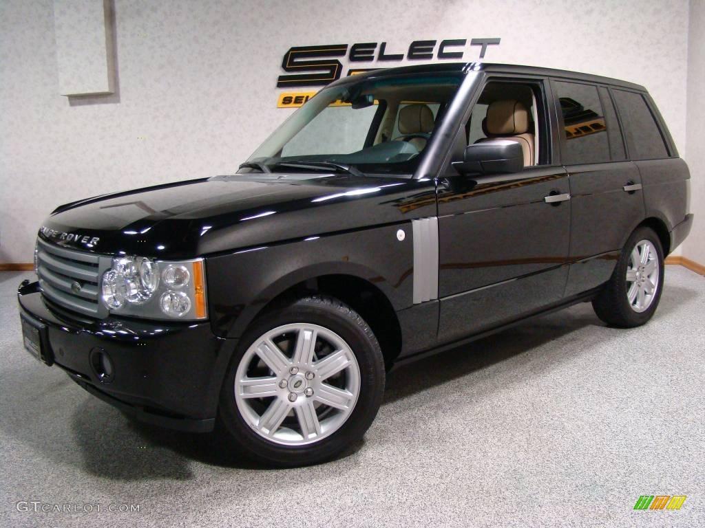 2007 Range Rover HSE - Java Black Pearl / Sand/Jet photo #1