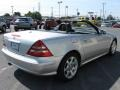 2001 Brilliant Silver Metallic Mercedes-Benz SLK 230 Kompressor Roadster  photo #4