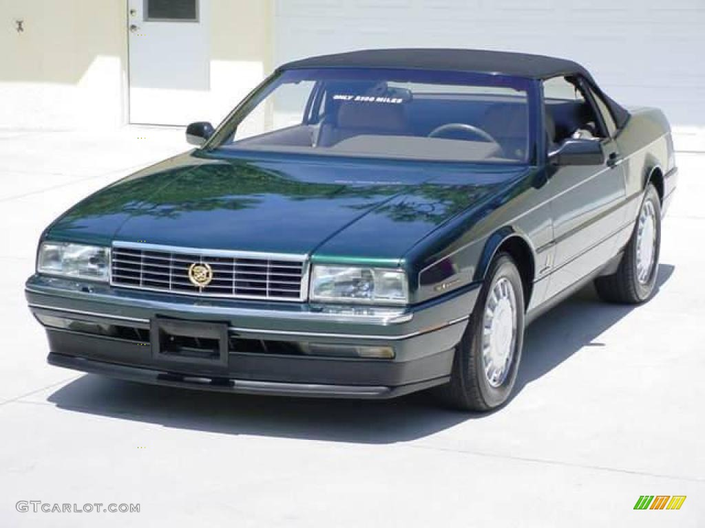 1993 Allante Convertible - Polo Green Metallic / Natural Beige photo #1