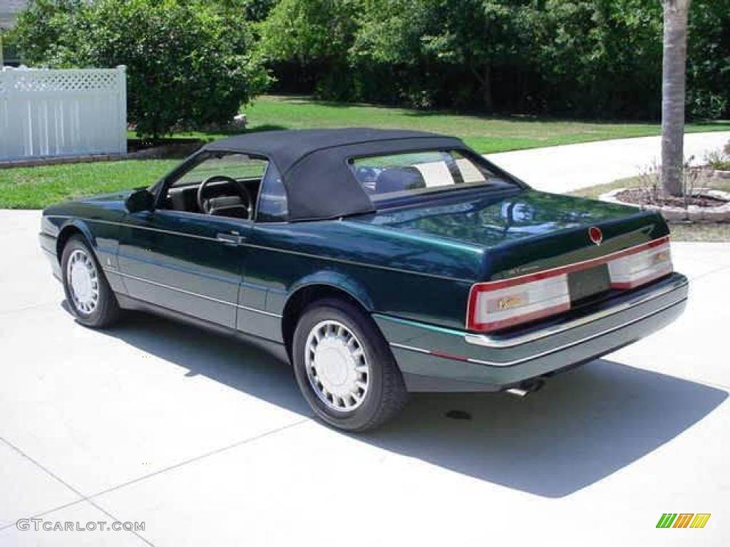 1993 allante convertible polo green metallic natural beige photo 2