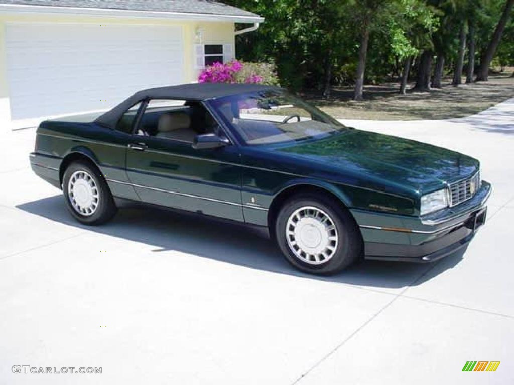 1993 Allante Convertible - Polo Green Metallic / Natural Beige photo #3