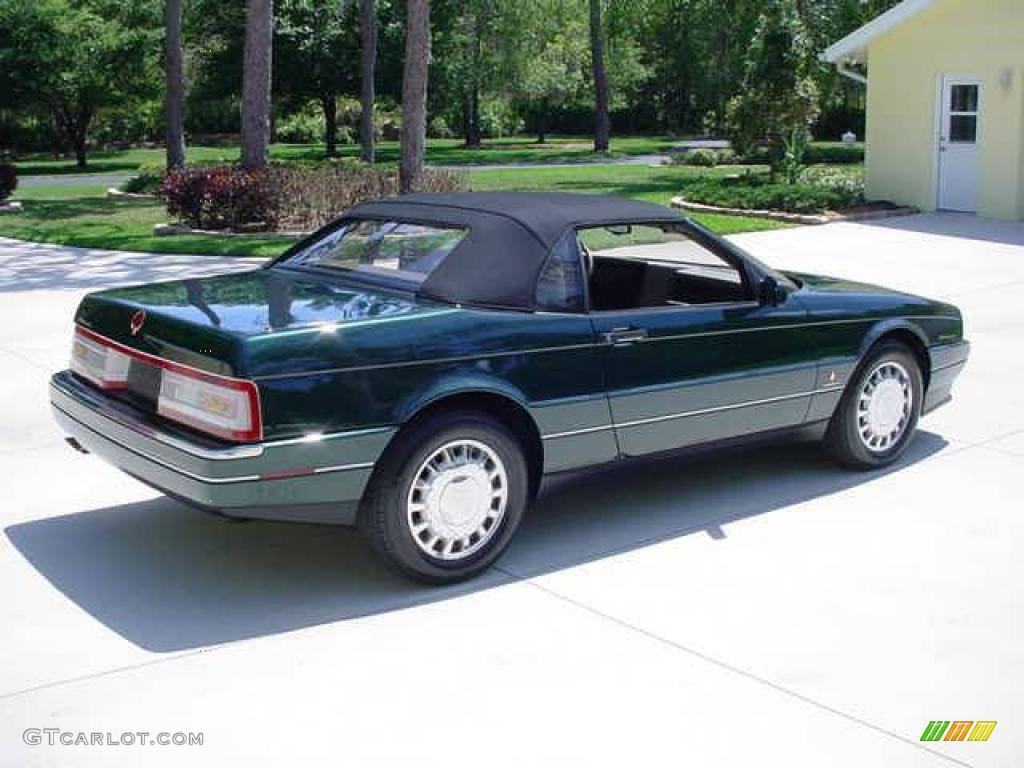 1993 Allante Convertible - Polo Green Metallic / Natural Beige photo #4