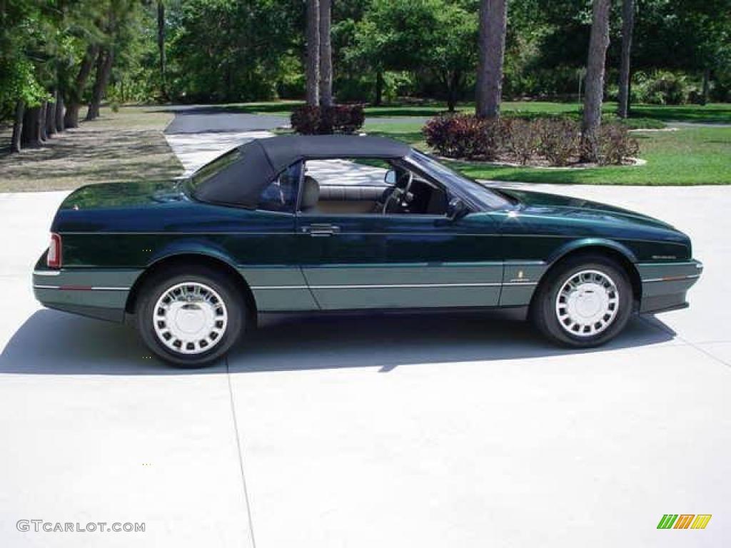 1993 Allante Convertible - Polo Green Metallic / Natural Beige photo #5