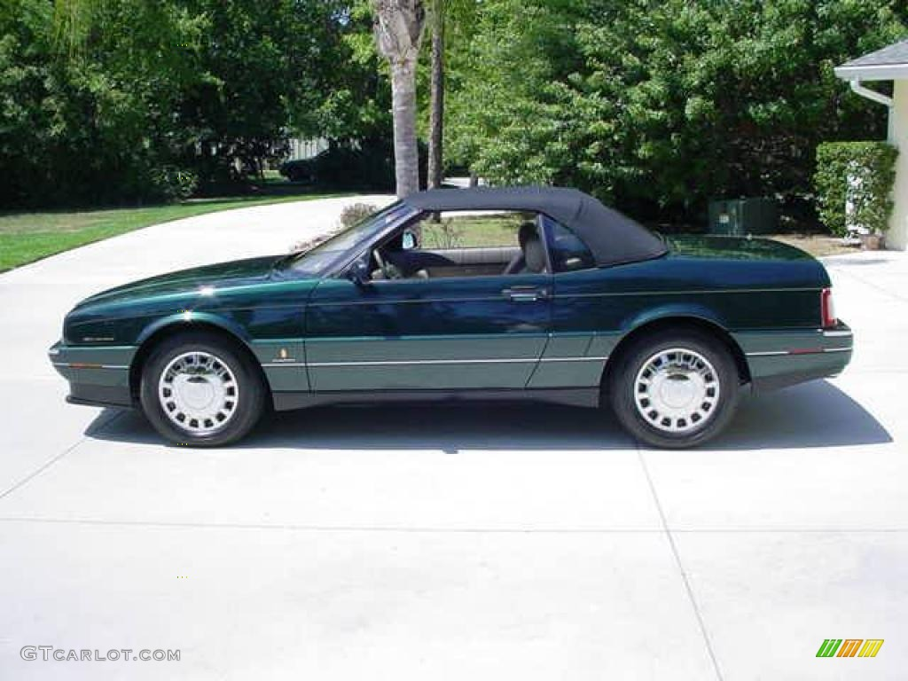 1993 Allante Convertible - Polo Green Metallic / Natural Beige photo #8