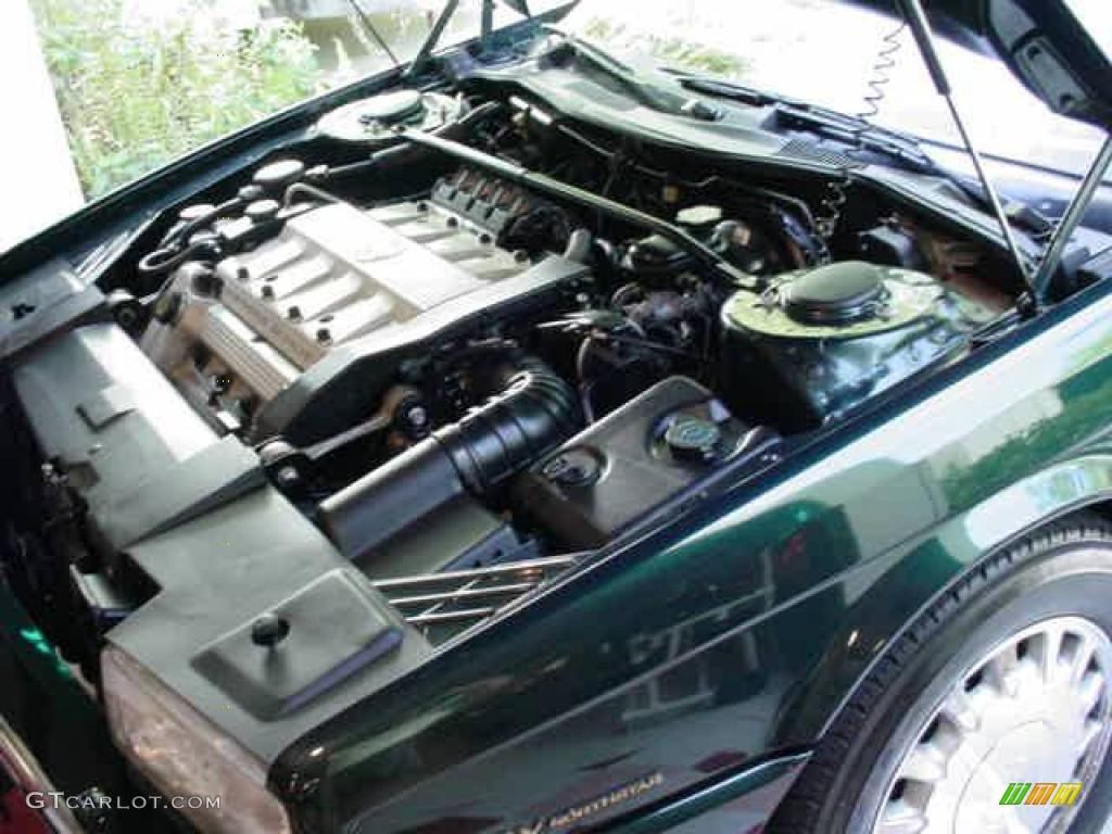 1993 Allante Convertible - Polo Green Metallic / Natural Beige photo #23