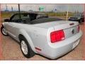2007 Satin Silver Metallic Ford Mustang V6 Deluxe Convertible  photo #19