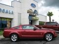 2007 Redfire Metallic Ford Mustang V6 Premium Coupe  photo #2